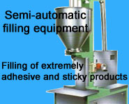 Semi-automatic filling equipment